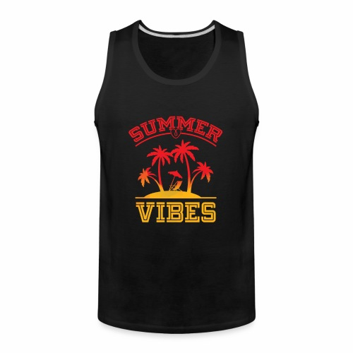 Summer Vibes - Men's Premium Tank