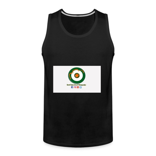David Doyle Arts & Photography Logo - Men's Premium Tank