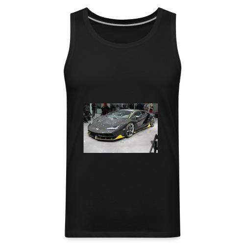lambo shirt limeted - Men's Premium Tank