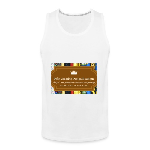 Debs Creative Design Boutique with site - Men's Premium Tank