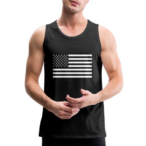 USA American Flag - Men's Premium Tank