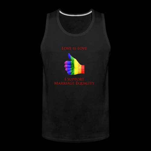 Love is Love 2 - Men's Premium Tank