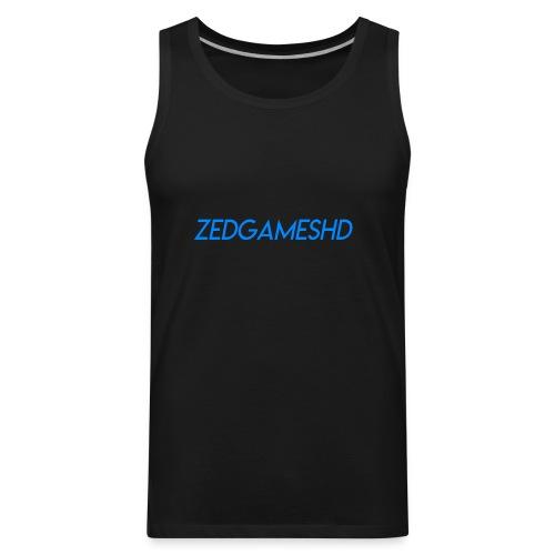 ZedGamesHD Logo - Men's Premium Tank