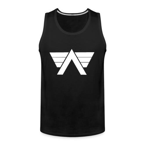 Bordeaux Sweater White AeRo Logo - Men's Premium Tank