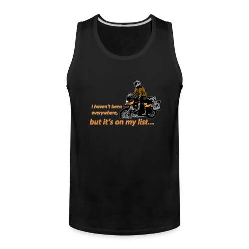Dualsport it's on my list (for darkcolored shirts) - Men's Premium Tank