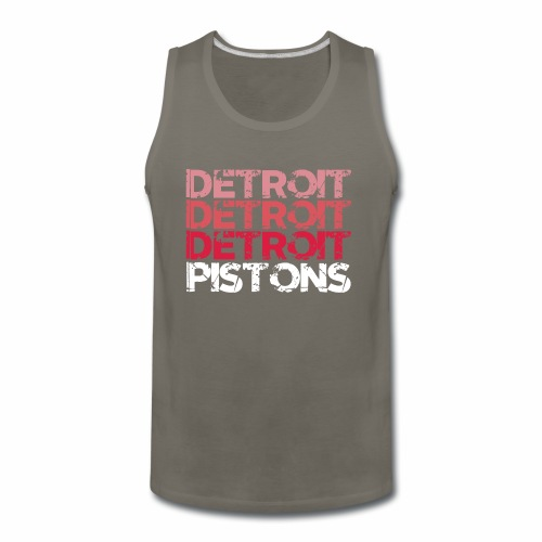 DETROIT PISTONS - Men's Premium Tank