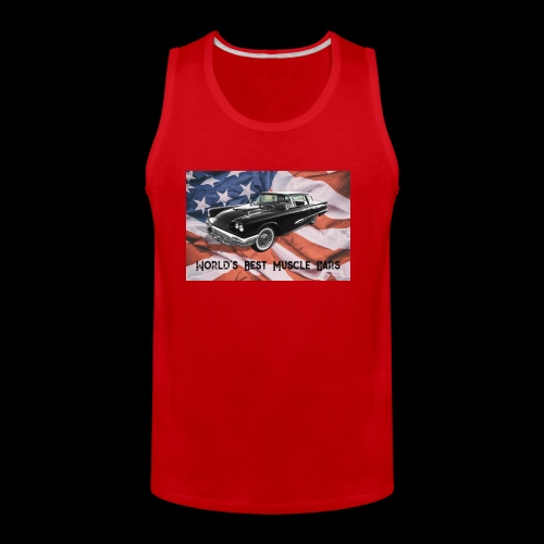 World's Best Muscle Cars - Men's Premium Tank