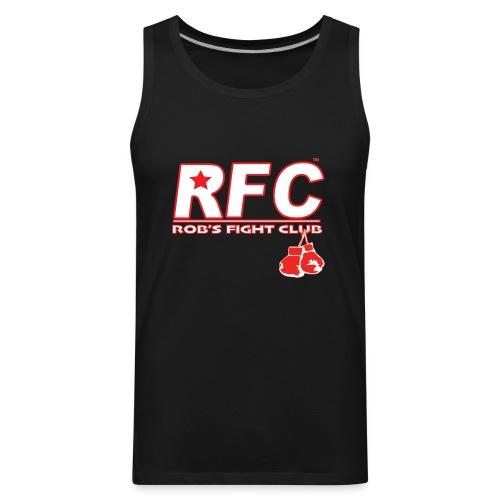 Red/Wht RFC Star Logo - Men's Premium Tank