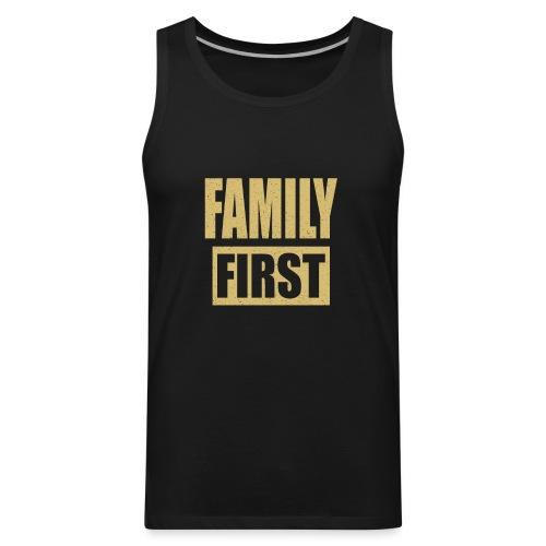 Family First - Men's Premium Tank