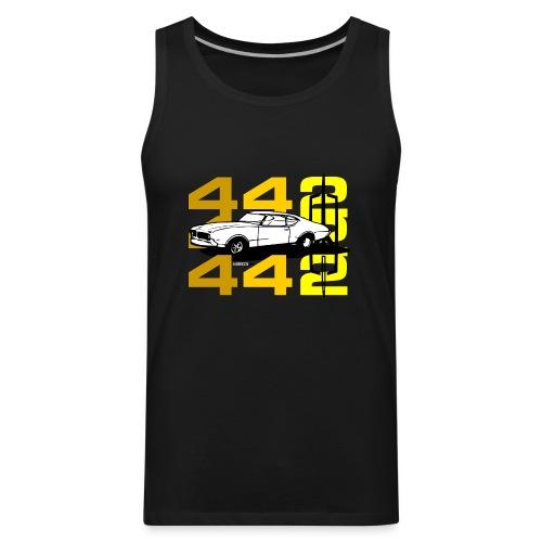 auto_oldsmobile_442_002a - Men's Premium Tank