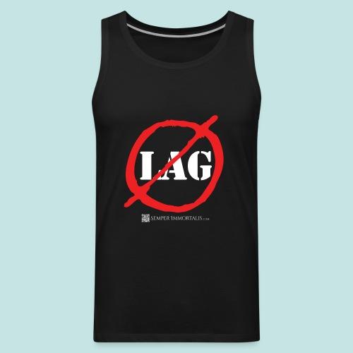 No Lag (white) - Men's Premium Tank
