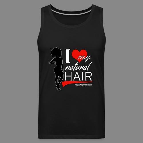 Love Natural Hair (Afro) - Men's Premium Tank