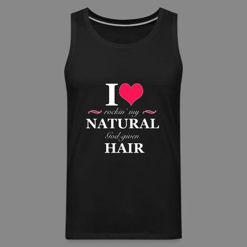 Love Rockin Natural Hair - Men's Premium Tank