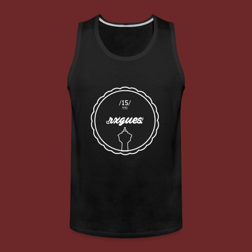 COLLEGE BADGE T - gr - Men's Premium Tank