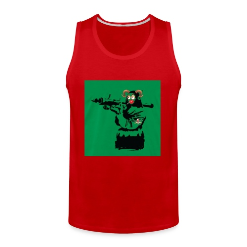 Baskey mona lisa - Men's Premium Tank
