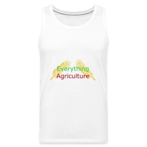 Everything Agriculture LOGO - Men's Premium Tank