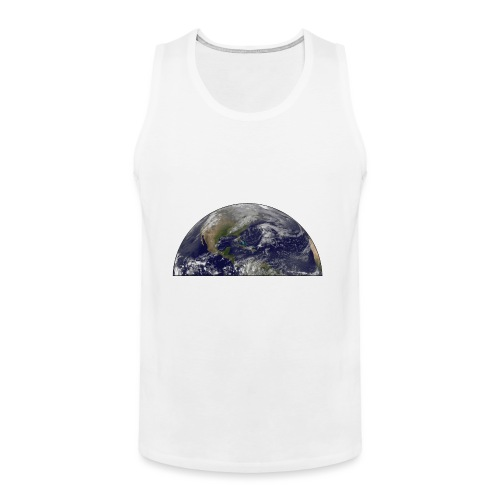 Magnetosphere Defending from Coronal Mass Ejection - Men's Premium Tank