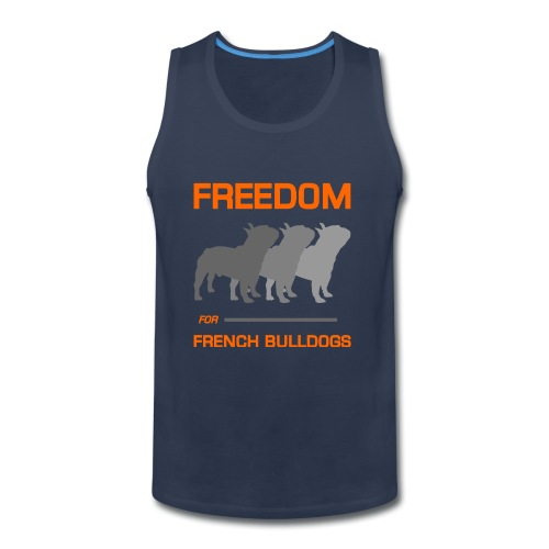 French Bulldogs - Men's Premium Tank
