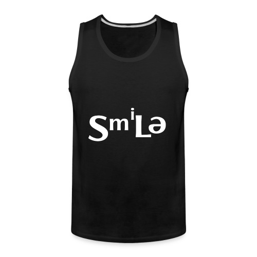 Smile Abstract Design - Men's Premium Tank