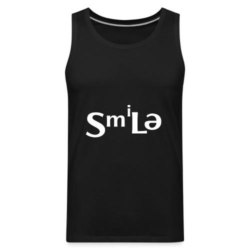Smile Abstract Design - Men's Premium Tank