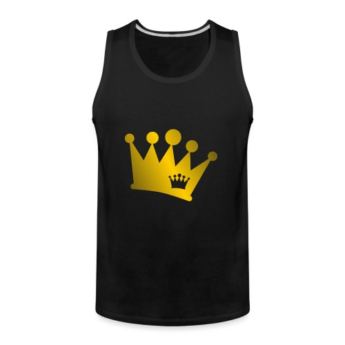 Double Crown gold - Men's Premium Tank
