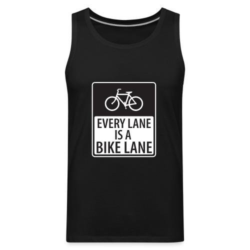 Every Lane is a Bike Lane - Men's Premium Tank