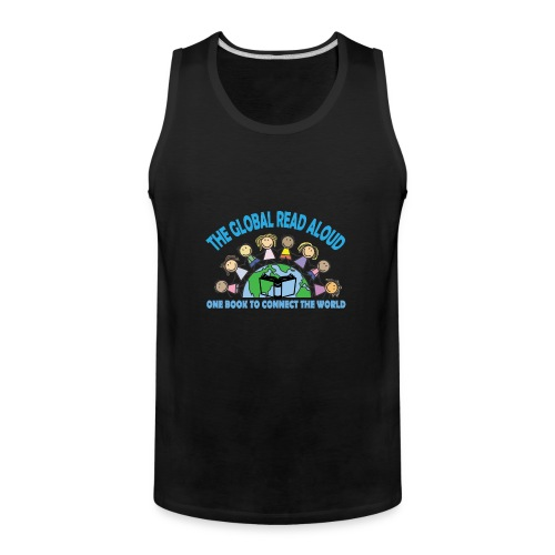 Global Read Aloud 2018 - Men's Premium Tank