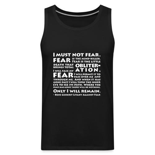 Litany Against Fear - Men's Premium Tank