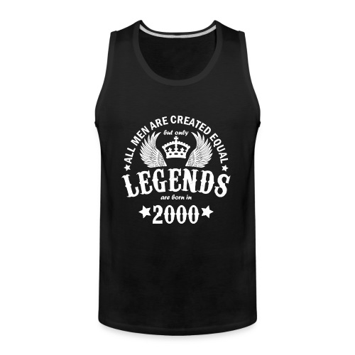 Legends are Born in 2000 - Men's Premium Tank