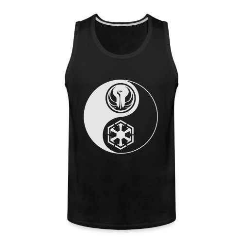 Star Wars SWTOR Yin Yang 1-Color Light - Men's Premium Tank