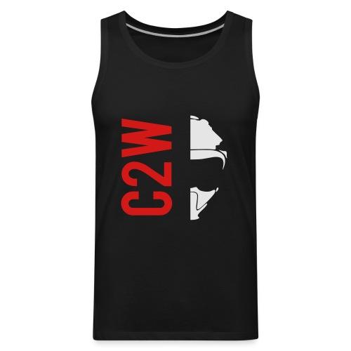 ChaseOnTwoWheels Split Logo - Men's Premium Tank