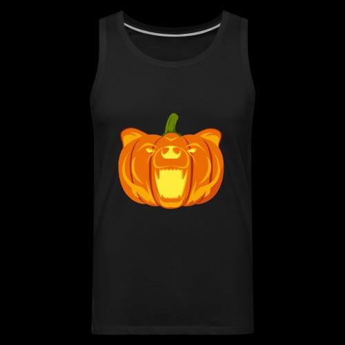 Pumpkin Bear - Men's Premium Tank