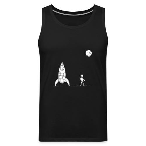 rocket to the moon - Men's Premium Tank