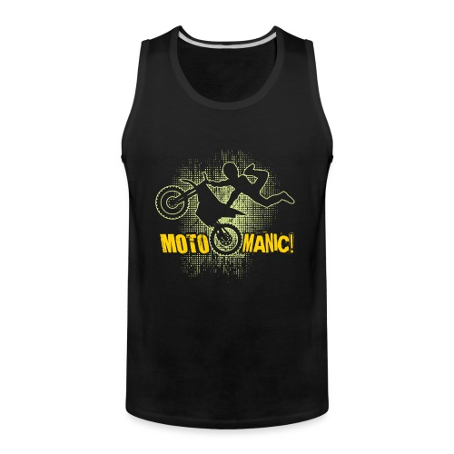 Motocross Maniac - Men's Premium Tank