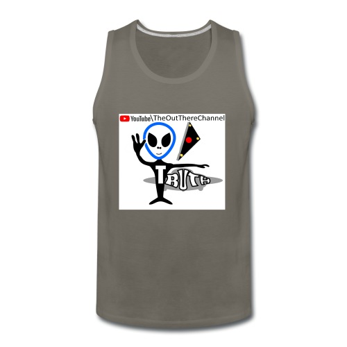 Tshirt NewOTLogo with Crew Back Logo - Men's Premium Tank