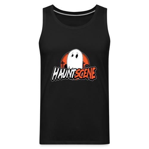 HauntScene Modern Logo 2020 - Men's Premium Tank