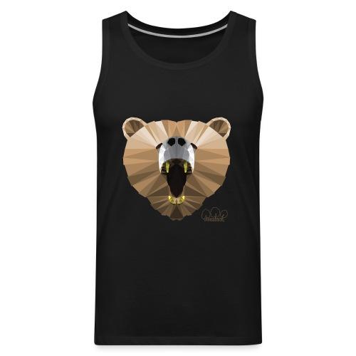 Hungry Bear Women's V-Neck T-Shirt - Men's Premium Tank