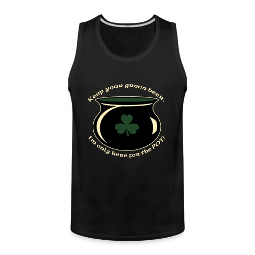 hereforthepot - Men's Premium Tank