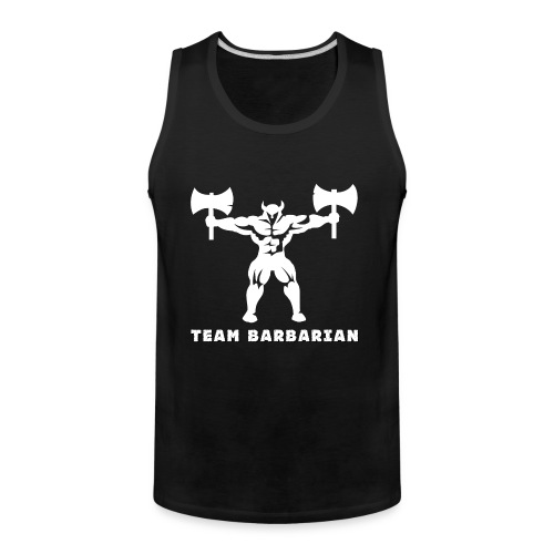 Barbaric Hoodie - Men's Premium Tank