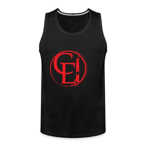 The Cigar Experience Branded Merch - Men's Premium Tank