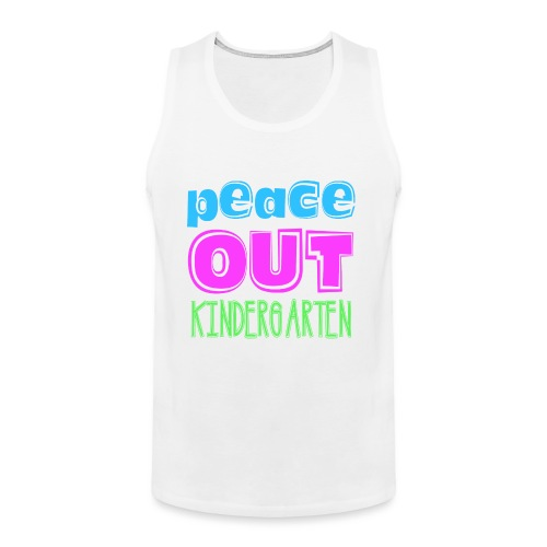 Kreative In Kinder Peace Out - Men's Premium Tank