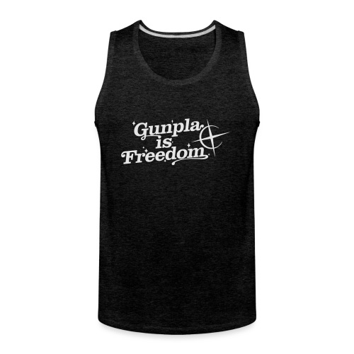 Freedom Men's T-shirt — Banshee Black - Men's Premium Tank
