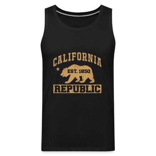 California Republic - Men's Premium Tank
