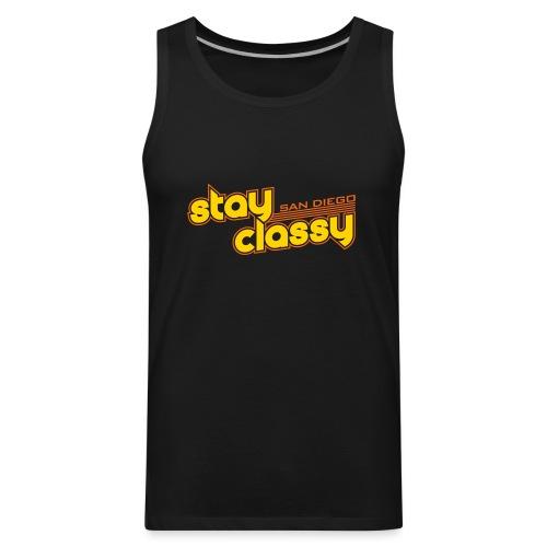 Stay Classy San Diego - Men's Premium Tank