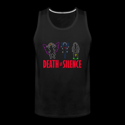 Death Does Not Equal Silence - Men's Premium Tank