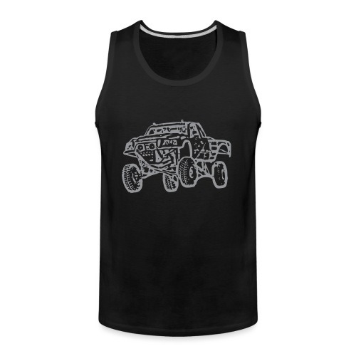 Jump Truck Grey - Men's Premium Tank