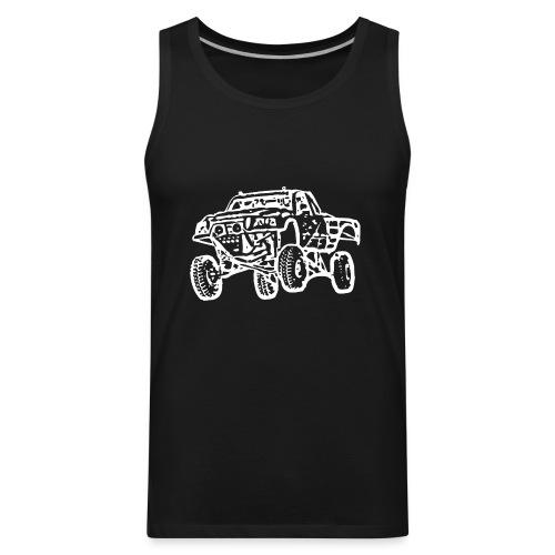 Jump Truck White - Men's Premium Tank