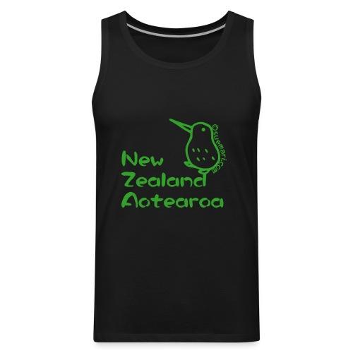 New Zealand Aotearoa - Men's Premium Tank