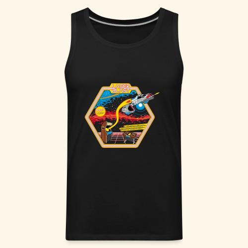 LaserBlast (for darkshirts) - Men's Premium Tank