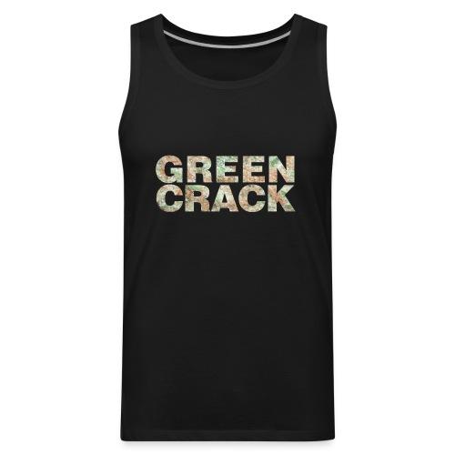 GREEN CRACK.png - Men's Premium Tank